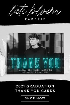 AD: 2021 graduation thank you card templates designed by Late Bloom Paperie for Zazzle. The collection includes graduation thank you cards with photos, various design styles (modern, traditional, non-photo, etc.), and a variety of color options. #graduationthankyoucards #graduationthankyoucardswithphotos #graduationthankyoucardtemplates #thankyoucardtemplates #graduationthankyounotes Graduation Thank You Cards, Graduation Party Invitations, Graduation Party Decor, Thank You Postcards, Thank You Notes, Thank You Card Template, Card Templates, Minimalist Photos, Graduation Cap Toppers