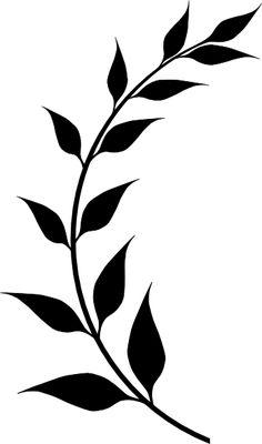 minimalist tattoo meaning Mini Tattoos, Flower Tattoos, Small Tattoos, Diy Tattoo, Leaf Stencil, Stencils, Laurel Tattoo, Tattoo Minimaliste, Free Clipart Images