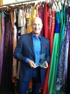 Luke Reichle won a 2012 Shorty Award for outstanding short social media content in fashion!