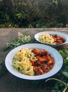 #Campfire #Beef #Stew with #Buttered #Parsley #Noodles recipe by thewoksoflife.com