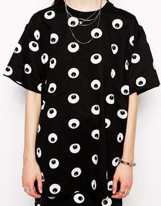 Image 3 of Cheap Monday Cartoon Eye T-Shirt