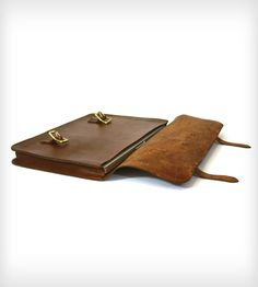 Classic Leather Briefcase | Bags & Accessories | Red Clouds Collective | Scoutmob Shoppe | Product Detail
