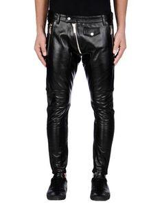 DSQUARED2 - TROUSERS - Leather trousers sur DSQUARED2.COM Dsquared2 4hlK9T