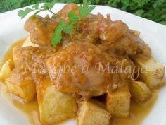 Me sabe a Málaga: Pollo en salsa