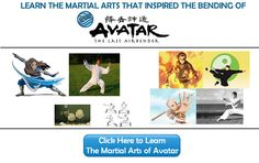 Learn The Martial Arts of Avatar The Last Airbender