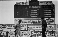Braves Field, Braves VS. Giants 1949