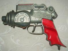 RARE Vintage 1950's Hubley Atomic Disintegrator Toy Space Gun