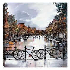 Amsterdam Moods - Spring 2013 Release by Paul Kenton £745 Available NOW from Westover gallery 01202 297 682