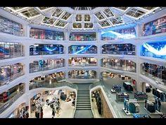 Primark, Gran Vía, Madrid: The making of the atrium LED installation - YouTube