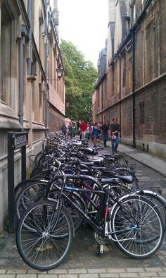 Bicycles - Oxford, UK