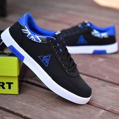 Spring Men Low-cut Canvas Shoes Fashionable Plate Shoes Breathability Lace-up Plate Shoes Flat Casual Shoes