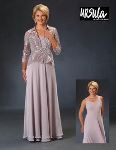 58683ae055e7b3 Ursula of Switzerland 31521 MOB Gown with Lace Jacket