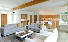 Modern Kitchen And Living Room Design simple filipino living room designs - google search | livingrooms