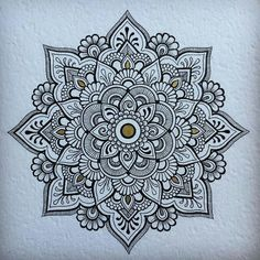 #mandala #ink #drawing https://www.instagram.com/p/BAgx9PoqgMj/