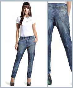 moda jeans calça saruel