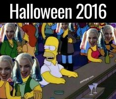 Halloween 2016 ft. Homer Simpson #halloween #homersimpson #thesimpsons