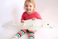 Beluga Whale Clothes Hook / Coat Hook / Towel Hanger | Ideal for kids and adults who just need somewhere to hang their wetsuits.