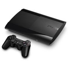 Sony PlayStation 3 Super Slim 500GB Black Console PS3 BRAND NEW SEALED NIB #Sony