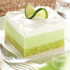 Lemon-Lime Cooler Dessert from Pillsbury® Baking
