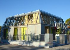 Team Rhône-Alpes has designed a modular solar-powered Canopea house for the 2012 Solar Decathlon Europe competition in Madrid