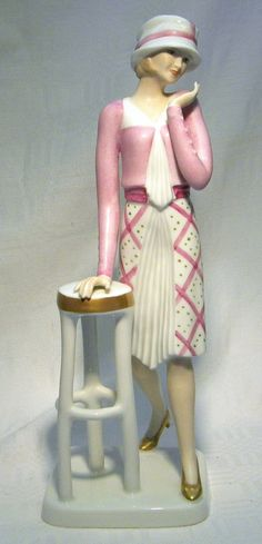 "Wallendorf 9 3 4 "" 1920 Tambour Figurine   eBay"