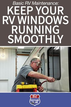 To keep your RV windows in great shape, take a few minutes to watch this helpful video. You'll learn all the essentials, including how to check the condition of the framework, keep your RV windows sliding smoothly and maintain the weep holes. Camper Life, Rv Campers, Rv Life, Happy Campers, Diy Camper, Camper Van, Rv Camping Checklist, Rv Camping Tips, Camping Ideas