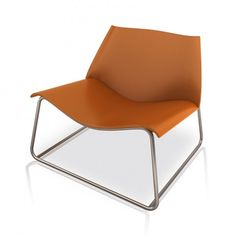 Luxo Earl Lounge Chair, Whisky Leather