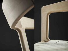 Artisan - Stuhl Tesa Wooden Diy, Wooden Signs, Wood Design, Rustic Wood, Chair Design, Artisan, Evolution, Furniture, Chairs