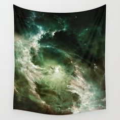 � Electra Wall Tapestry. #abstract #graphic-design #digital #space