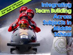 "This is AWESOME for instant integration! The ""Spiral Studies"" cross-curricular team created a full set of FREE integrated team building lessons that fit together for the 4 major middle school subjects!  This would be a perfect 1st day of school or special bonus day lesson for the entire teaching team to implement in each classroom!"