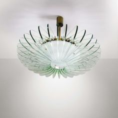 Giacometti Chandelier In Plaster And Metal Alberto