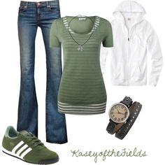 """Track and Field"" by kaseyofthefields on Polyvore"