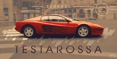 It was wide, it was brash and it was fast! Typical of the 80s the Ferrari Testarossa is one of the greatest Ferrari's ever made. #spon Hit the image to see it in action and more top Ferrari's.