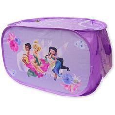 Disney - TinkerBell Pop-up Toy Chest, Purple