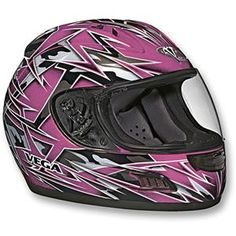 Girly motorcycle helment