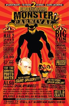 Horror Society: Underground Monster Carnival 2
