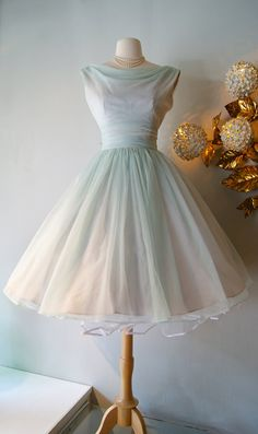 50s Dress / Vintage 1950's Daiquiri Ice Party by xtabayvintage, $248.00