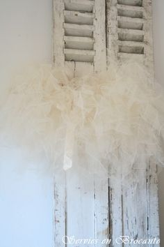 Romantische Tutu/ Romantic Tutu | Sold | Servies & Brocante