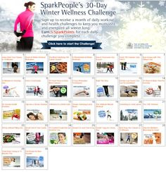A Fun & FREE 30-Day Winter Workout Plan! | via @SparkPeople #fitness #exercise #motivation #newyear