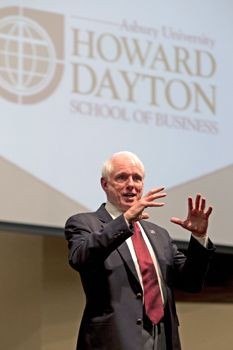 Asbury University Howard Dayton School of Business - Howard Dayton speaking in chapel!