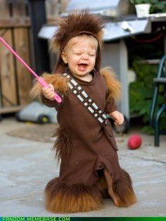 Parenting win! Chewbacca