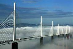 The Millau Viaduct bridge in France