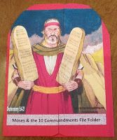 Bible Fun For Kids: Moses and the 10 Commandments file folder game Bible Crafts For Kids, Bible Lessons For Kids, Kids Bible, Children's Bible, Free Bible, Kid Crafts, Catholic Kids, Kids Church, Sunday School Lessons