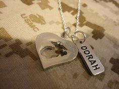 Marine Love Charm Necklace by CheekerCosplay on Etsy. , via Etsy.