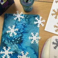Akvarel, sůl a sněhové vločky, hodně dalších zajímavých námětů na Vv
