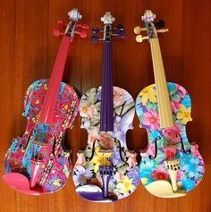 If I still had my viola.rephrase, if i can FIND my viola. Piano Y Violin, Violin Art, Violin Music, Violin Painting, Sound Of Music, Music Love, Music Is Life, Rock 13, Cool Violins