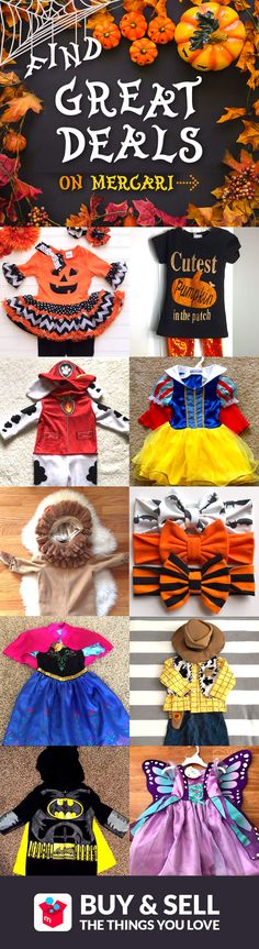 Shop halloween costumes at up to 70% off! Mercari is a safe and easy mobile marketplace for buying or selling clothing, bags, shoes, cosmetics, jewelry, electronics, and more! Shop confidently with our Buyer Protection Guarantee. What are you waiting for? Earn money or find something new today!