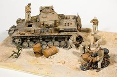 Systematic maintenance   Dioramas and Vignettes   Gallery on Diorama.ru