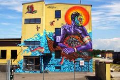 AMARA POR DIOS with FIYA - SHALAK & SMOKY  ..  [Malmö, Sweden 2015] Yahoo Images, Urban Art, Image Search, Street Art, The Originals, World, Sweden, Painting, Artists