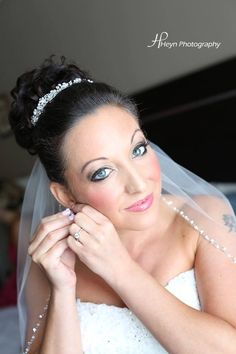 Hair and makeup by Michelle Surgent of #pinkcomb #weddinghair #hair #updo #alldown #bridesmaid #beautiful #makeup #bridal #bridalbeauty #michellesurgent #nj #newjersey #njbride #airbrush #lashes #bride